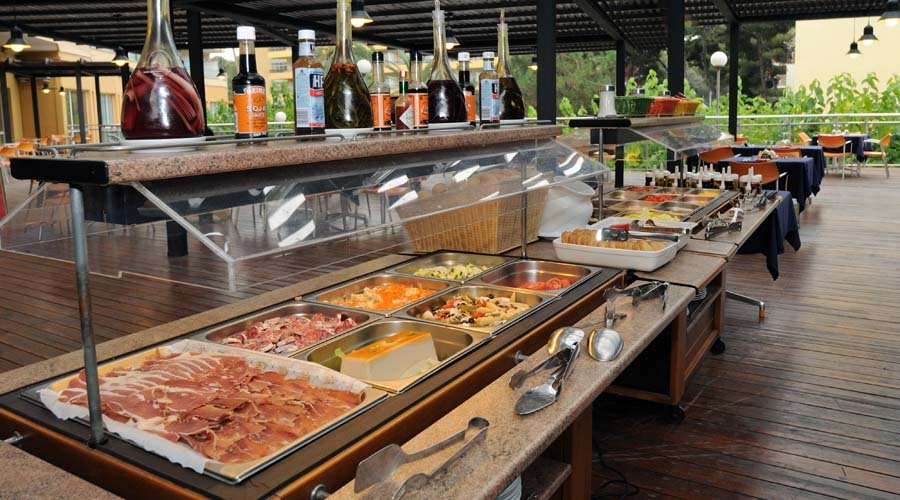 Alfresco buffet hotel salou