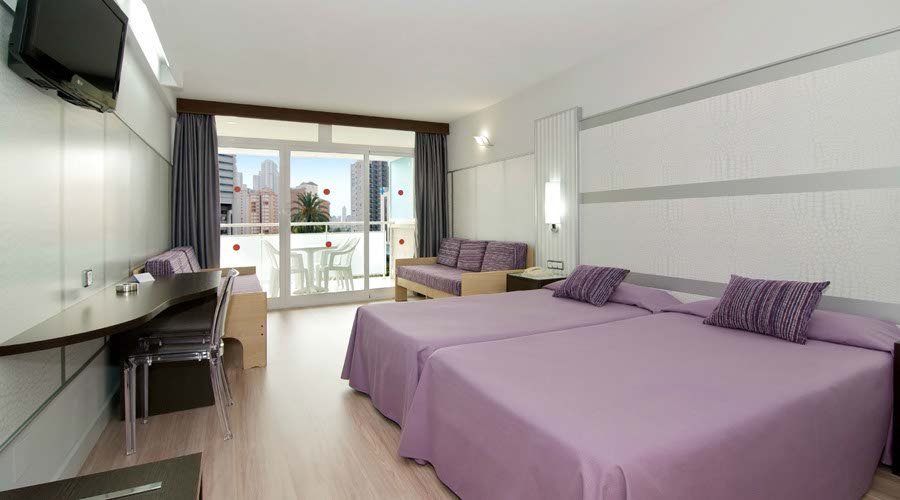 Room flamingo hotel benidorm