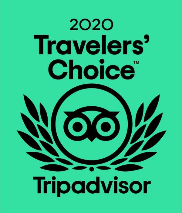 Travaler's Choice 2020 Tripadvisor